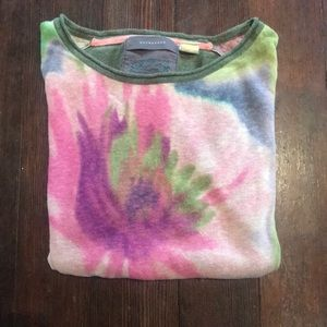 Floral knit top by Guinevere